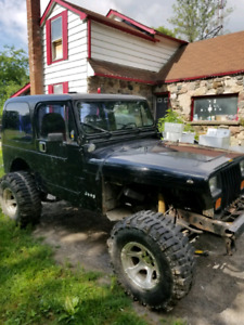 Looking for 1995 jeep yj parts !