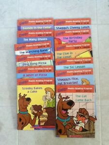 Kids Scooby Doo Phonics Book Set - 12 books