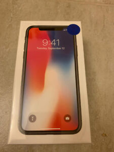 Apple Iphone X 64GB (Space Grey)  Brand New in Box sealed.