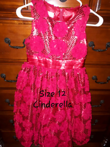 Size 12 & 14 Party / Formal Girl's Dresses & Shoes