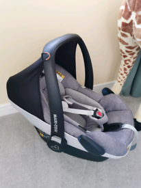 Maxi cosi pebble Pro I size car seat