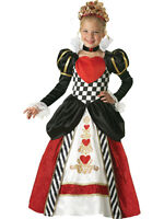 NEW InCharacter Queen o Hearts Child Theatre Quality Costume Set