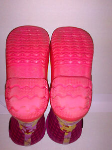 Bogs Kid's Girls Classic Flower Dot Cherry Pink Youth Size 2 Stratford Kitchener Area image 7