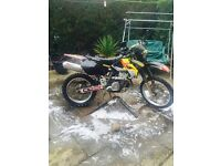 Suzuki Drz 400 road legal/ktm/yz/cr/kx/rm