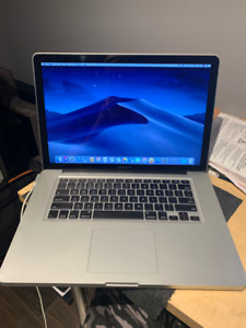 Mid 2012 Macbook Pro 15in, Core i7, Works Great