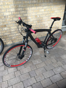 Black/Red BMW Cruise Bike -Excellent Condition