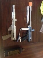 Two paintball guns and c02 canister 75$ obo.