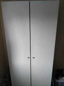 White wardrobe for sale