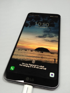 LG G6 cell phone - Perfect condition including all accessories