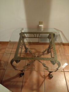 Glass Coffee and End Table for Sale.
