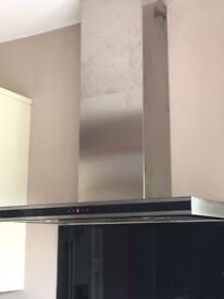 Cooker extractor hood and venting kit