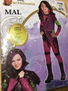 Mal costume (Descendants movie) size 4-6