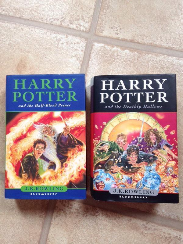 Harry Potter Book First Edition ~ Harry potter books first edition in aberdeen gumtree