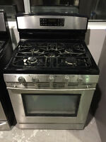 "ASSEMBLY APPLIANCE 30"" STAINLESS STEEL GAS TOP STOVE"