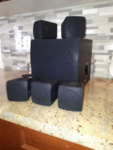 5.1 surround sound Sony and Yamaha