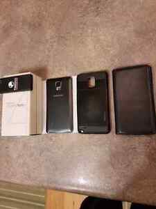 Unlocked Samsung note 4 with additional battery and cases