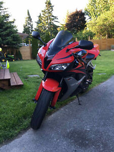 CBR 600RR with lots of extras