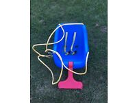 Baby and toddler little tikes swing