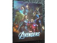The Avengers blu ray steelbook and Lenticular slipcase novamedia