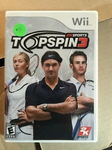 Wii Topspin3