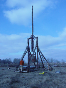 Large Trebuchet For Sale
