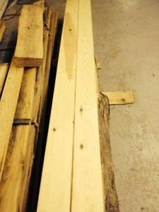 1 x 6 Tongue and Groove Red Pine Flooring
