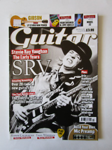 STEVIE RAY VAUGHAN.. Guitar & Bass magazne.  2009