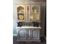 Lovely vintage Welsh dresser. Annie Sloane.