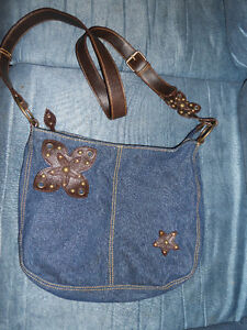 REDUCED!!! brand new, Cute over the shoulder denim purse Kitchener / Waterloo Kitchener Area image 1