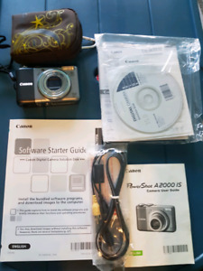 Like New Canon Power Shot A 2000 IS digital camera