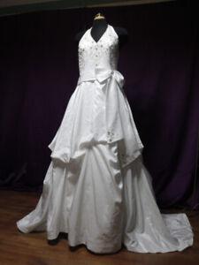 Wedding Dress Halter