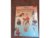Disney's 'My First Song Book' piano song book and lyrics