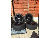 "Genuine Audi 17"" ronal alloy wheels"