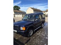 2002 Land Rover discovery td5gs 7 seater 12 months mot