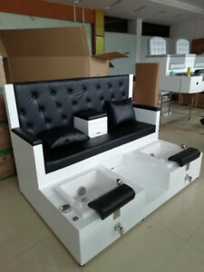 Luxury Pedicure Bench Chair Leather