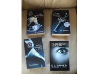 50 Shades of Grey and Grey total 4 books