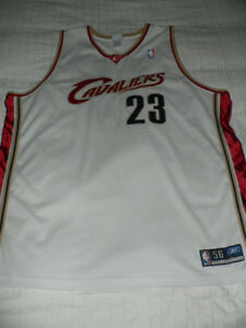 LeBron James Authentic Cleveland Cavaliers Reebok Jersey SZ 56