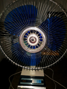 VERY LARGE AND POWERFUL OSCATLING FAN