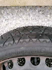 "19"" Space saver spare wheel"