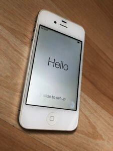 Unlocked white iPhone 4 - 16GB - Great condition