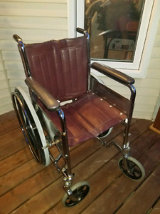 WHEELCHAIR/FAUTEUIL ROULANT/100$
