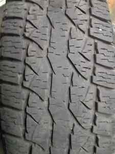 265/75R16 WILD COUNTRY RADIAL XTX have two