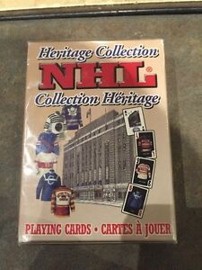 NHL Heritage Collection Playing Cards For Sale
