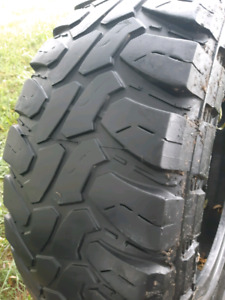 LT35X12.5R20 MUD TERRAIN TIRES
