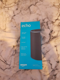 Amazon alexa charcoal colour. New condition hardly used £20