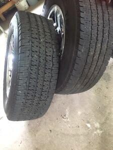 Tires in great condition, rims not included LT 275/70R17
