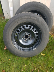 4 Winter tires/rims form Ford Edge
