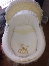 Baby Wicker Crib for Sale