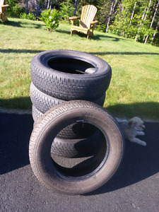 Set of 4 All Season Tires and 1 Spare