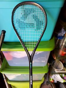 Like new Squash racket!